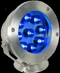 Подводный светильник для бассейнов