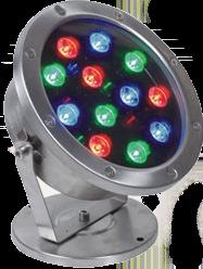 Подводный RGB светильник